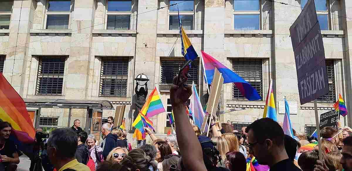 Sarajevo pride parade 2019