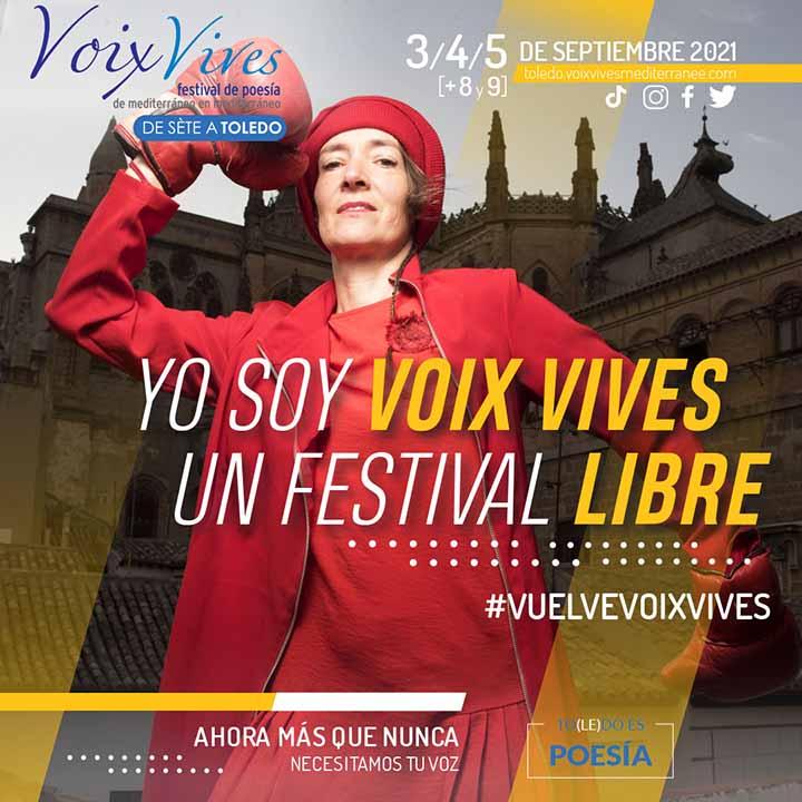 Festival de Poesía Voix Vives Toledo 2021