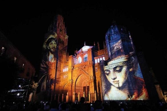 Espectáculo de Luz y Sonido Toledo