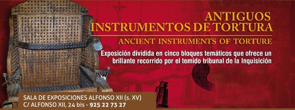 Exposición Antiguos instrumentos de tortura en Toledo