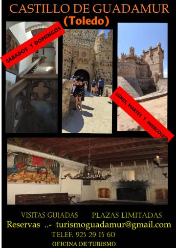 Visitas guiadas al Castillo de Guadamur