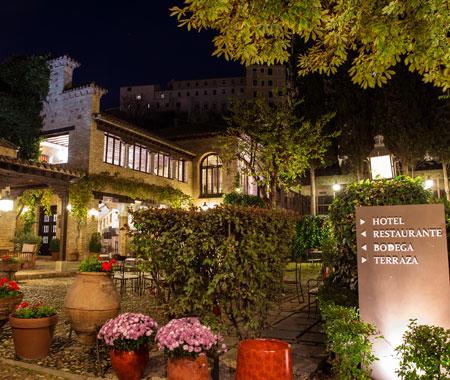 Restaurante La Hacienda del Cardenal en Toledo