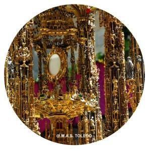 Posavasos Corpus Christi Toledo