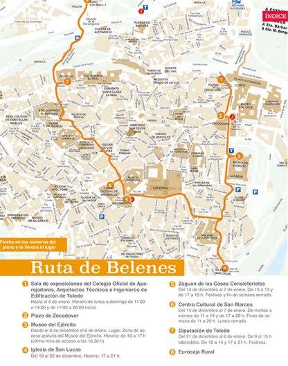 Rutas de Belenes en Toledo