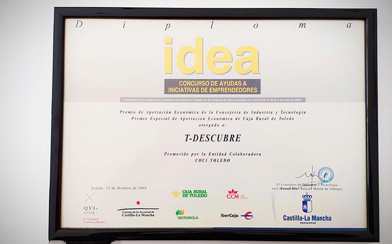 Premio Concurso IDEA 2004