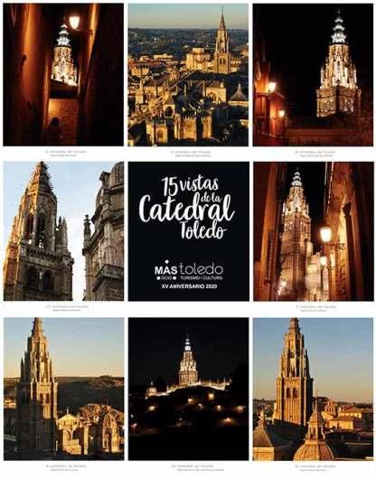 15 vistas de la Catedral de Toledo