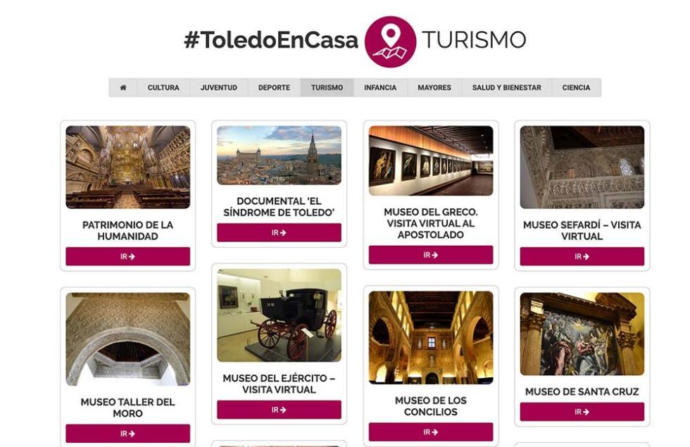 Toledo en Casa Turismo