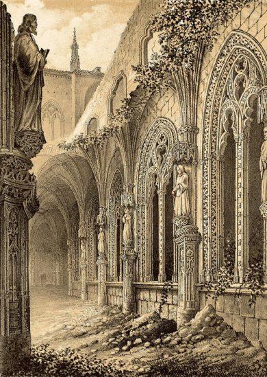 Claustro de San Juan de los Reyes derruido