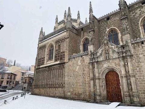 San Juan de los Reyes de Toledo Nevado