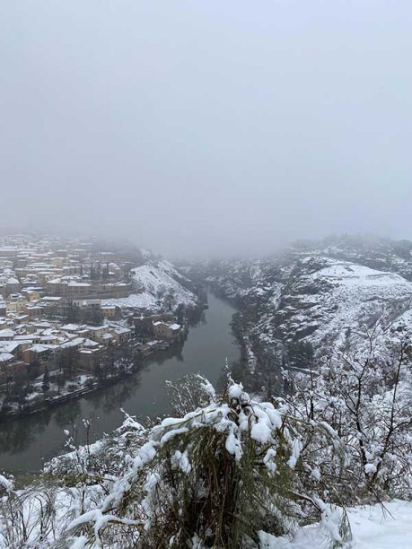 El Valle de Toledo Nevado