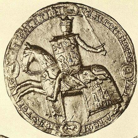 Sello de Alfonso X el Sabio