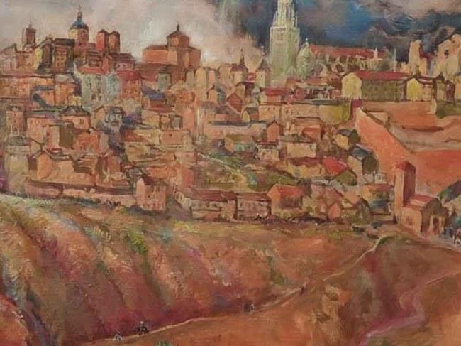 Exposicion de Marian Kratochwil en el Museo de Santa Cruz de Toledo