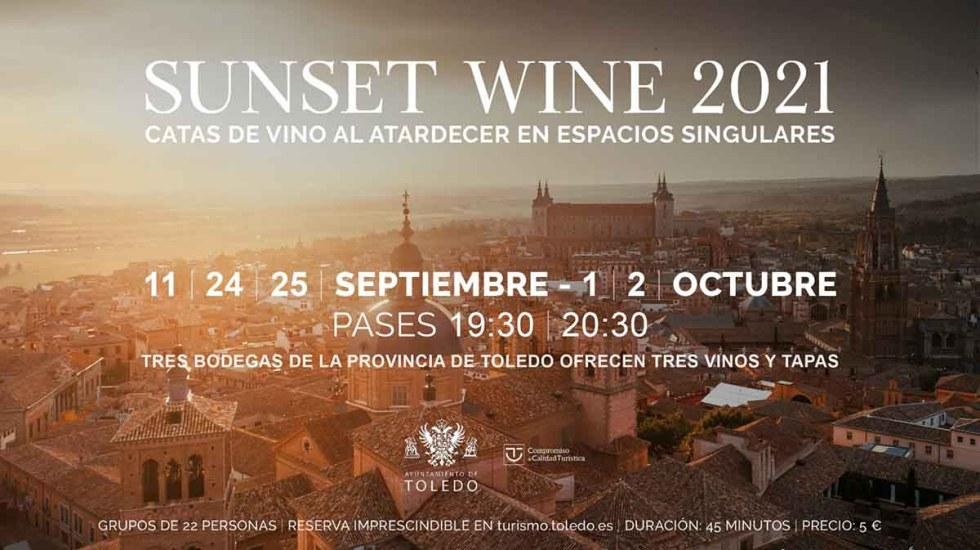 Sunset wine Toledo