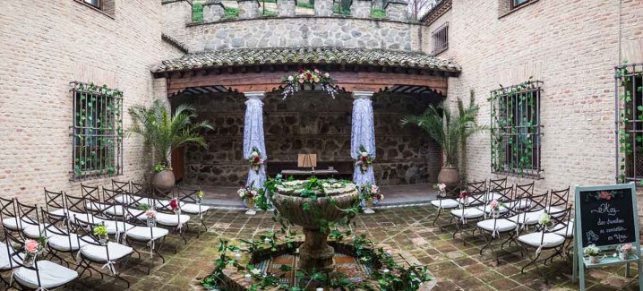Bodas y eventos Hacienda del Cardenal en Toledo