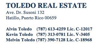 Toledo Address