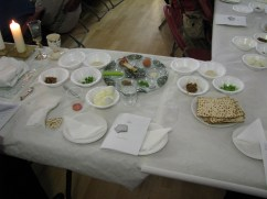 Passover Meal led by our Local Rabbi