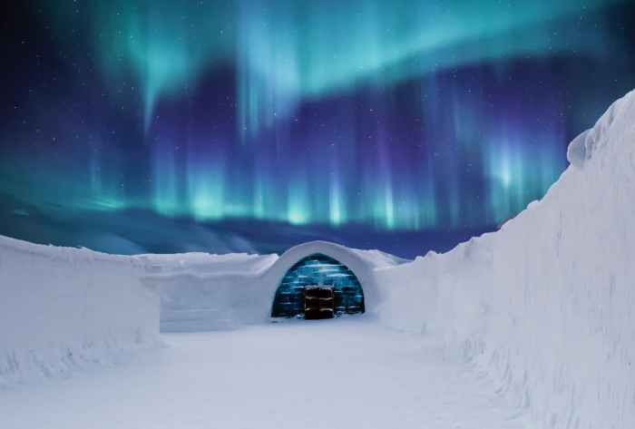 Onde é possível ver a Aurora Austral?