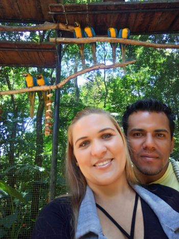 Parque das aves – Foz do Iguaçu