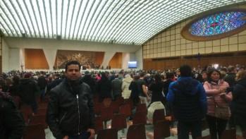 Audiência com o Papa no Vaticano