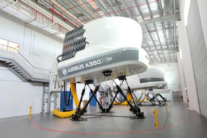 thy a350 simulator