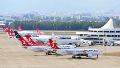 Photo of Antalya'da uçaklar yerde