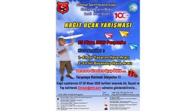 Photo of İnternetten kağıt uçak yarışması