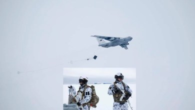 Photo of Rusya'dan kutuplara paraşüt atlayışı