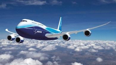 Photo of Boeing 747 veda ediyor
