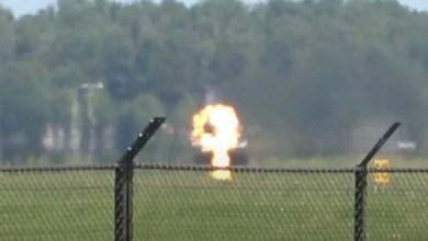 Photo of F-16'ya kalkışta kuş çarptı