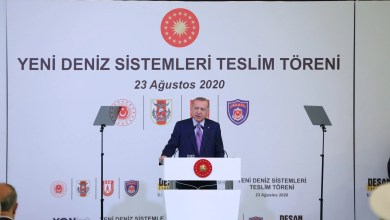 """Photo of Cumhurbaşkanı Erdoğan: """"TCG Anadolu'nun ardından 2'nci, 3'üncü gemilerimizi yapalım"""""""