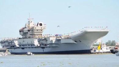 Photo of Hindistan'ın yerli uçak gemisi liman testlerini tamamladı