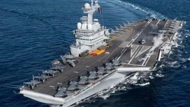 Photo of Charles De Gaulle uçak gemisi Doğu Akdeniz'e gidiyor