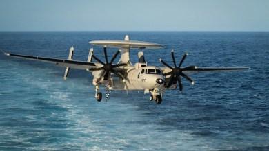 Photo of ABD'de E-2C Hawkeye düştü