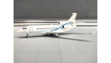 Photo of Cengiz Holding'in Falcon 7X uçağı model olarak satışta