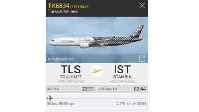 Photo of THY ilk A350-900'ü teslim aldı