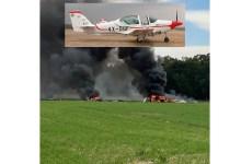 Photo of İsrail'de askeri Grob eğitim uçağı düştü