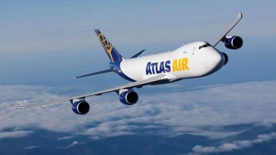 Photo of Atlas Air son 747-8F uçaklarını aldı