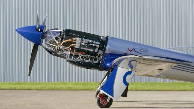 Photo of Elektrikli uçak pistte koşmaya başladı