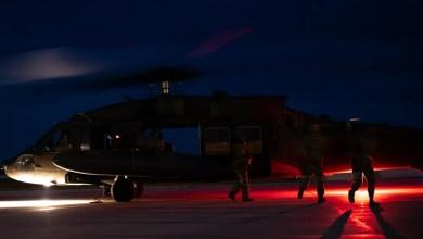 Photo of İncirlik'teki ABD helikopterlerinden gece uçuş eğitimi