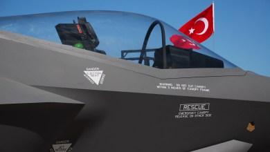 Photo of Türk Bayrağı altındaki tek F-35A
