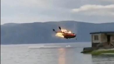 Photo of Çin yapımı Z-8 yangın söndürme helikopteri düştü