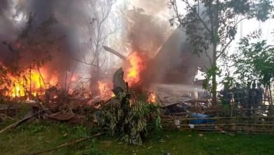 Photo of Filipinlerde C-130H kazası