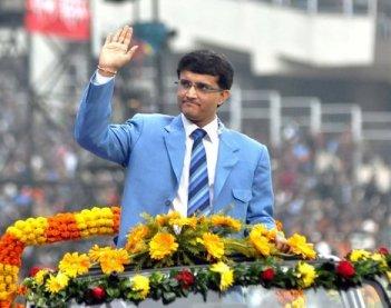 File Photo: Former Captain, current BBCI President Sourav Ganguly
