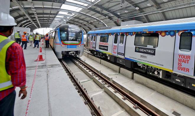 hyderabad metro rail runs under huge losses