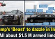 Trump's 'Beast' to dazzle in India, All about $1.5 M armed limo