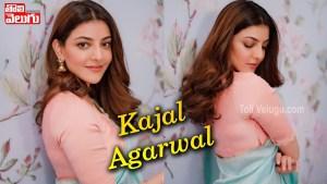 Actress Kajal Agarwal Latest Traditional Saree photos