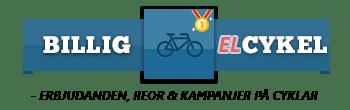 billig elcykel banner