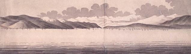 Vue de La Malbaie, anciennement Murray Bay. 1784
