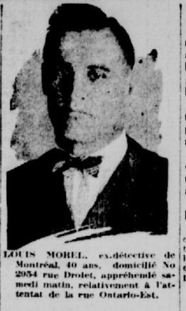 Louis Morel. La patrie, 28 avril 1924