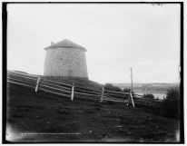 Tour Martello, entre 1890 et 1901. / Martello tower, Plains of Abraham, Quebec